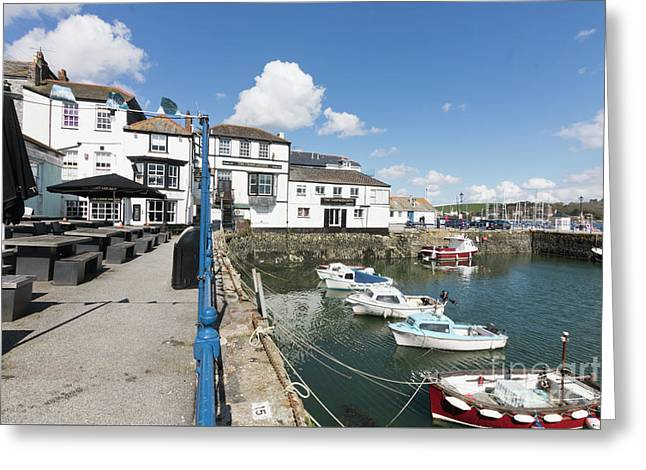 Falmouth Inns Greeting Card by Terri Waters