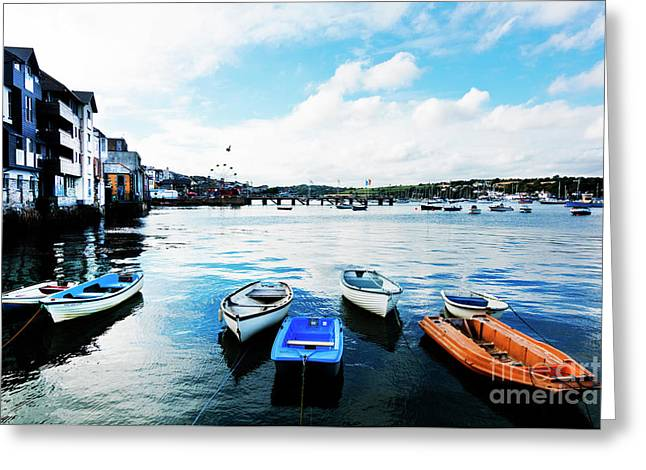 Falmouth To Flushing Greeting Card by Terri Waters