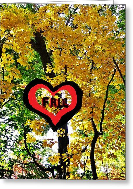 Bloosom Greeting Cards - Fan Of The Fall Greeting Card by Jasna Gopic