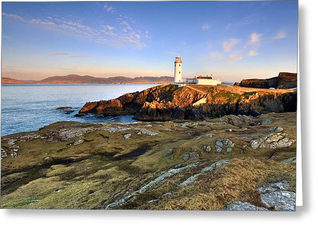 Fanad Head Lighthouse Greeting Card by Pawel Klarecki