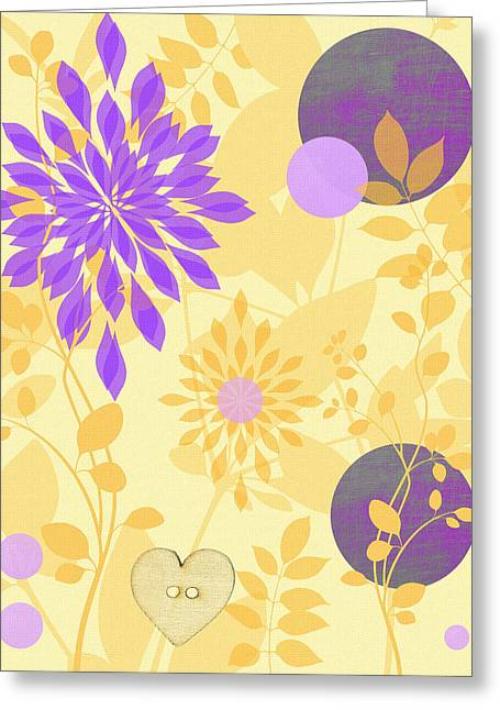 Digitally Created Greeting Cards - Fanciful Greeting Card by Lisa S Baker