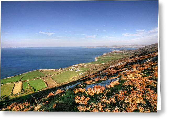 Galway Bay Greeting Cards - Fanore view Greeting Card by John Quinn
