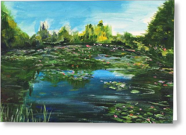 Impressionist Greeting Cards - I Wish The Best For You Greeting Card by Belinda Low