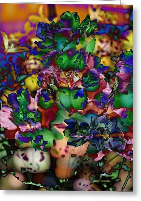 Metal Prints Greeting Cards - Farbe Greeting Card by Thom Zehrfeld