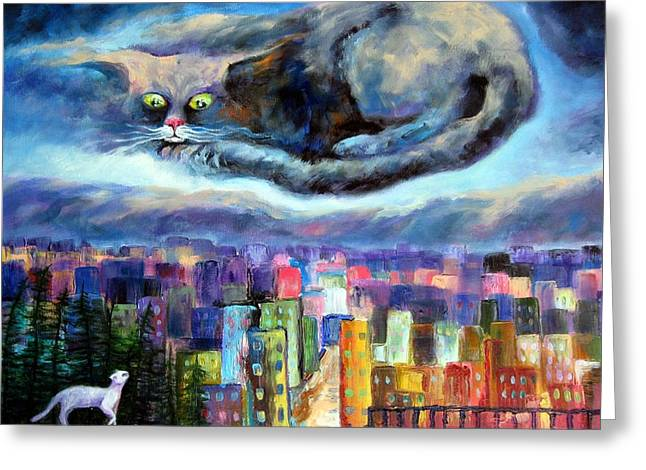 Elisheva Nesis Greeting Cards - Fare Thee Well Greeting Card by Elisheva Nesis