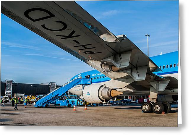 Klm Greeting Cards - Farewell MD-11 Greeting Card by Rutger Smulders