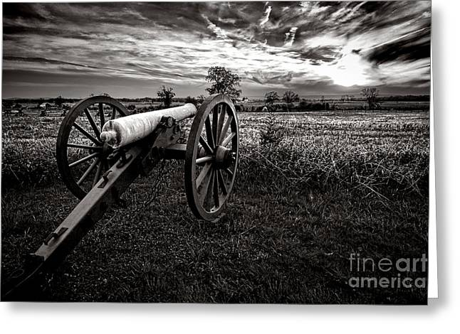 Battleground Greeting Cards - Farewell to Gettysburg Greeting Card by Olivier Le Queinec