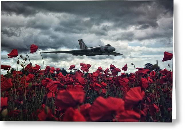 Farewell To The Spirit Of Great Britain  Greeting Card by Jason Green
