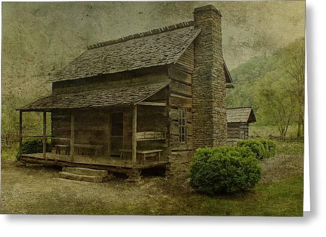 Nc Houses Greeting Cards - Farm House Greeting Card by Sandy Keeton