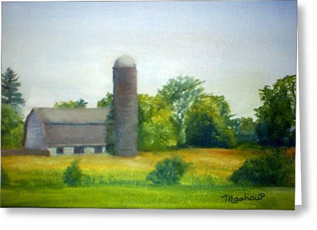 Farm In The Pine Barrens  Greeting Card by Sheila Mashaw