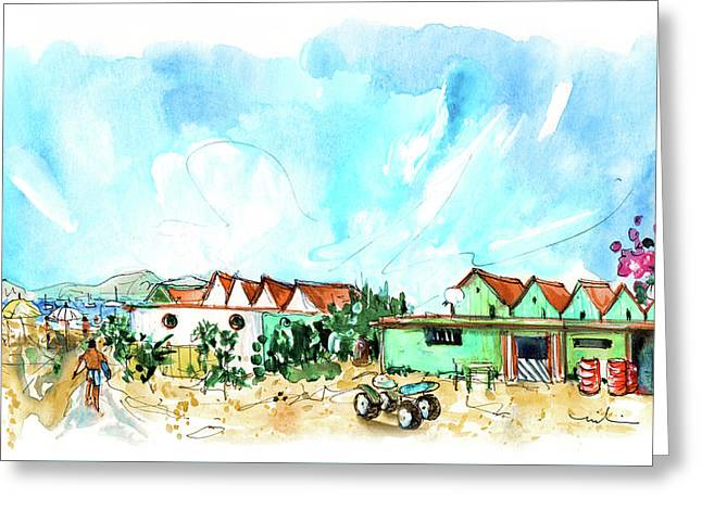Farol Island 03 Greeting Card by Miki De Goodaboom