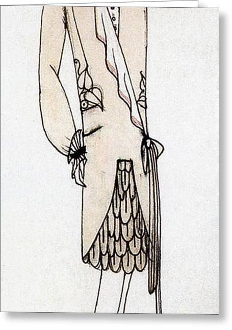 Apparel Greeting Cards - Fashion Design, 1920s Greeting Card by Science Source