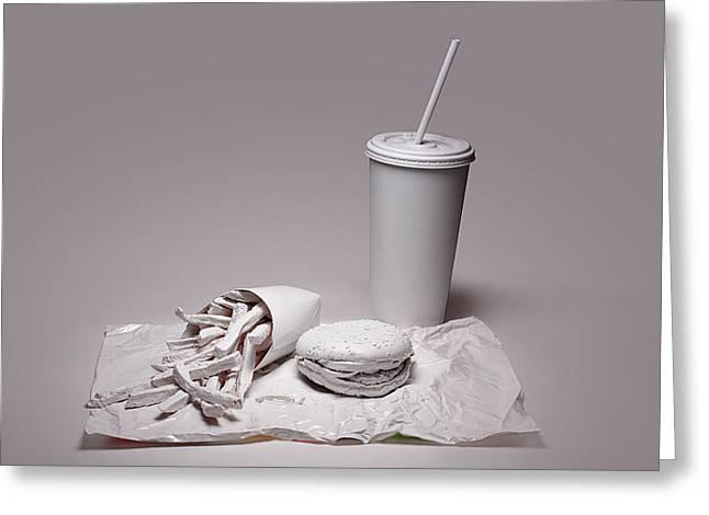 Lettuce Greeting Cards - Fast Food Drive Through Greeting Card by Tom Mc Nemar