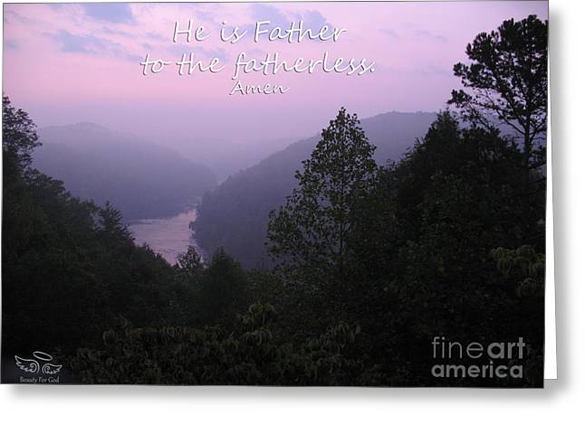 Missing Child Greeting Cards - Father Greeting Card by Beauty For God