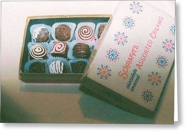 Pretending Mixed Media Greeting Cards - Faux Chocolates  Greeting Card by Jenny Elaine