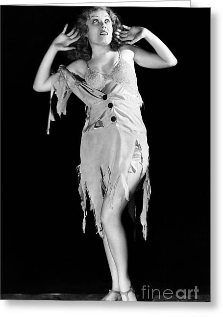 Fay Greeting Cards - Fay Wray (1907-2004) Greeting Card by Granger