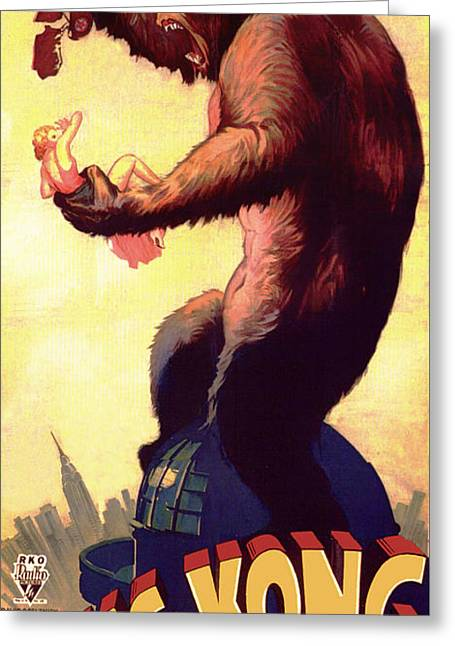 Fay Wray In King Kong 1933 Greeting Card by Mountain Dreams