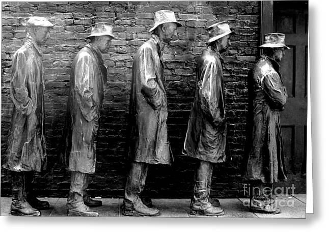 Fdr Memorial 5 Greeting Card by Randall Weidner