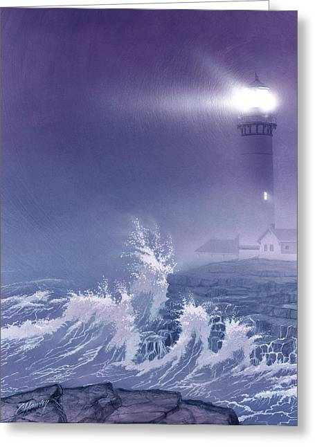 Fears Greeting Cards - Fearless - Psalm 27 Greeting Card by Cliff Hawley