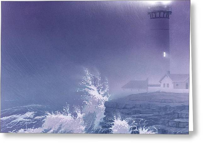 Fearless - Psalm 27 Greeting Card by Cliff Hawley