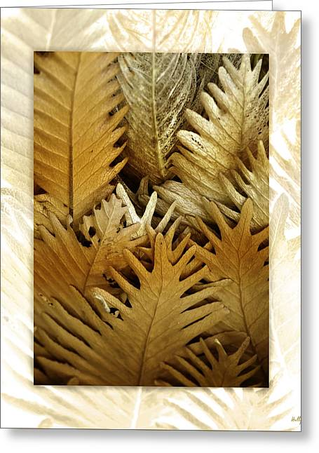 Border Digital Greeting Cards - Feeling Nature Greeting Card by Holly Kempe