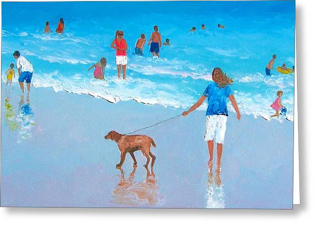 Beach Themed Greeting Cards - Feels like summer Greeting Card by Jan Matson
