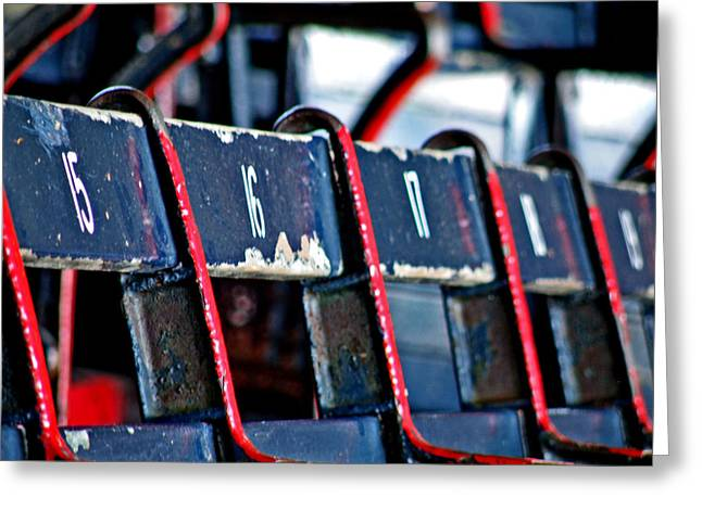 Best Sellers -  - Fenway Park Greeting Cards - Fenway Greeting Card by Donna Shahan