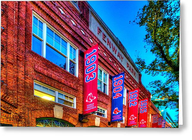 Boston Red Sox Greeting Cards - Fenway Park 132 Greeting Card by Jeff Stallard