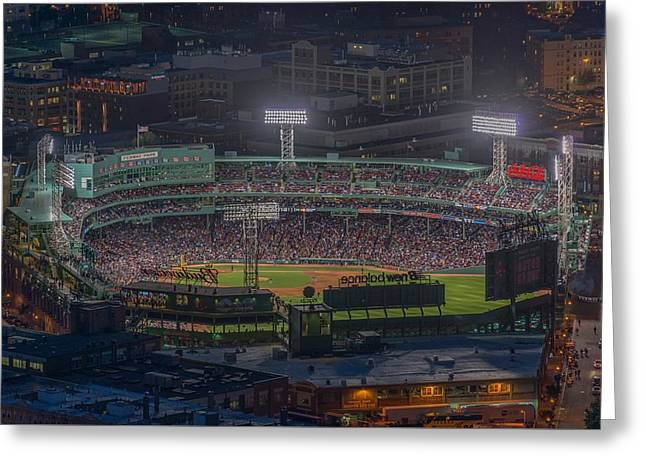 Fenway Park Greeting Card by Bryan Xavier
