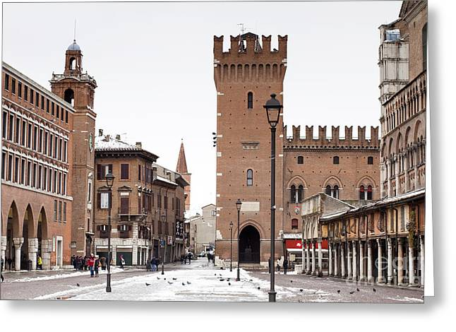 Ferrara Greeting Card by Andre Goncalves