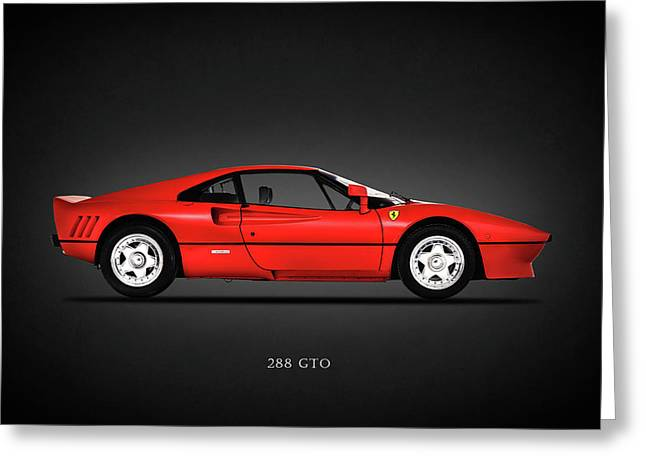 Ferrari Gto Classic Car Greeting Cards - Ferrari 288 GTO Greeting Card by Mark Rogan
