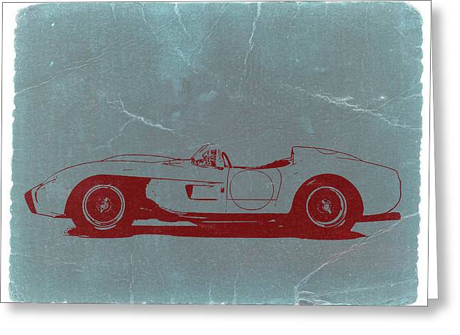 Ferrari Testa Rosa Greeting Card by Naxart Studio