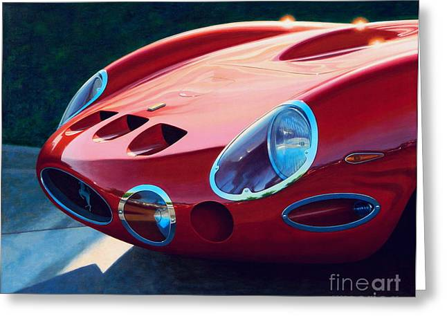 Turismo Greeting Cards - Ferrari Two Fifty GTO Greeting Card by Frank Dalton