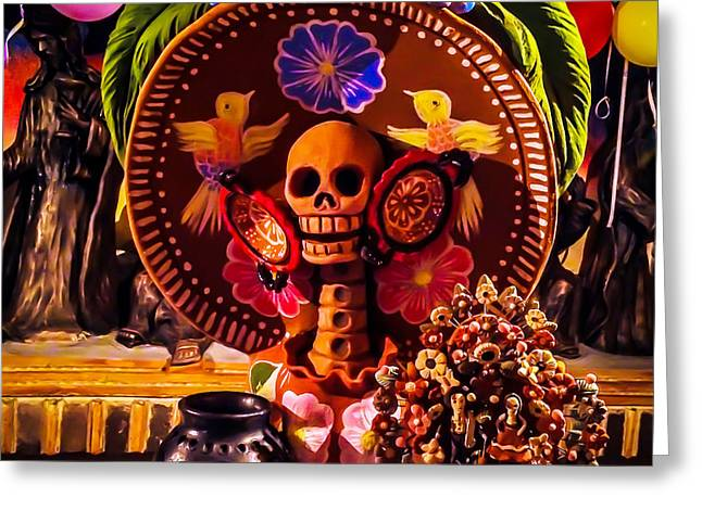 Photo Art Gallery Greeting Cards - Festivitas Greeting Card by Hugo Eloy TAO