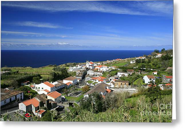 Azores Greeting Cards - Feteiras - Azores islands Greeting Card by Gaspar Avila