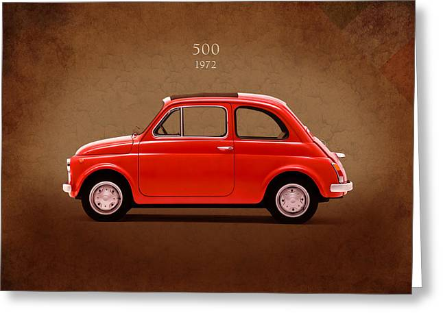Fiat 500 Greeting Cards - Fiat 500 R 1972 Greeting Card by Mark Rogan