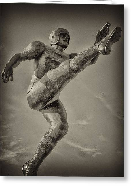 Football Photographs Greeting Cards - Field Goal Greeting Card by Bill Cannon