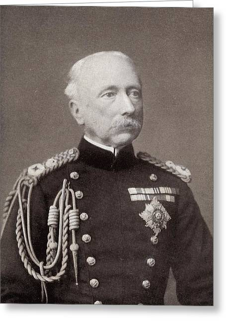 British Portraits Greeting Cards - Field Marshal Garnet Joseph Wolseley Greeting Card by Ken Welsh