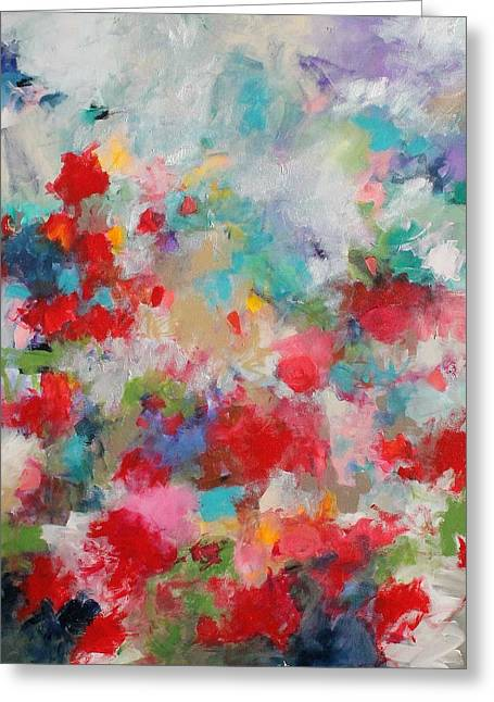 Recently Sold -  - Loose Greeting Cards - Field of Poppies  Greeting Card by Kerri Blackman