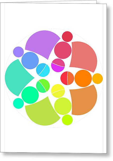 Coloured Greeting Cards - Fiesta Greeting Card by Francisco Rodriguez