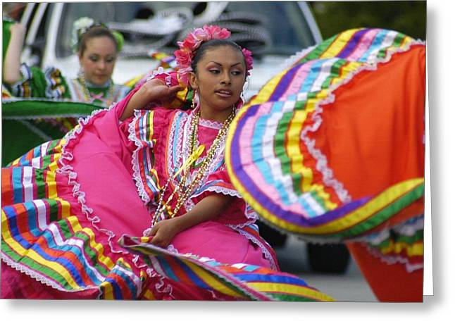 Mexican Fiesta Greeting Cards - Fiesta Greeting Card by Lori Seaman