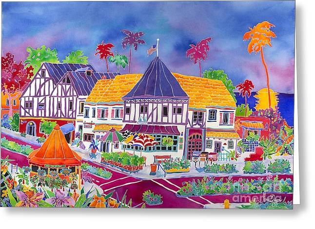 Fifteenth Greeting Cards - Fifteenth Street Greeting Card by Janice Culver