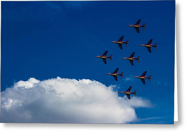 Jet Greeting Cards - Fighter Jet Greeting Card by Martin Newman