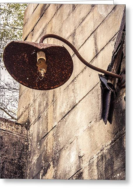 Streetlight Greeting Cards - Filament Greeting Card by Valerie Cason