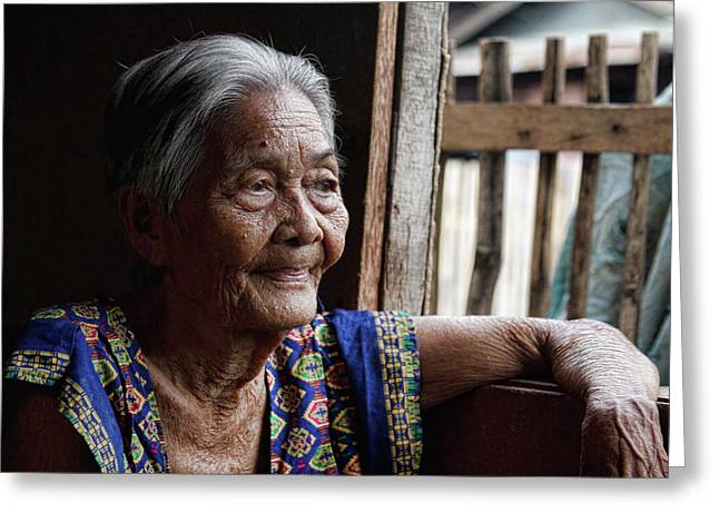 """""""stock Images"""" Greeting Cards - Filipino Lola - Image Number Fourteen  Greeting Card by James BO  Insogna"""