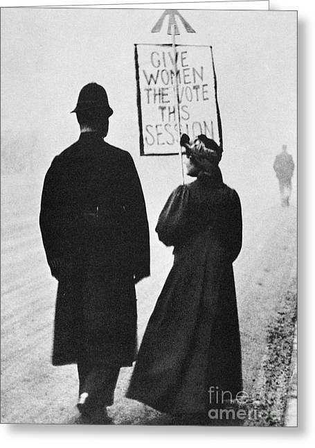 Protesters Greeting Cards - Film Still: Suffragette Greeting Card by Granger