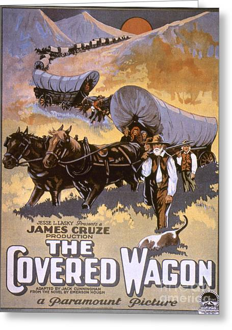 Film: The Covered Wagon Greeting Card by Granger