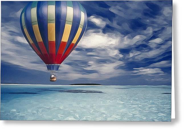 Baloon Greeting Cards - Final Destination Greeting Card by Yury Malkov