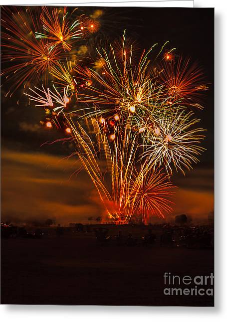 Burst Greeting Cards - Final Display Greeting Card by Robert Bales
