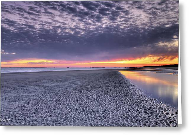 Photographic Images Greeting Cards - Final Shot of the Night Greeting Card by Phill  Doherty